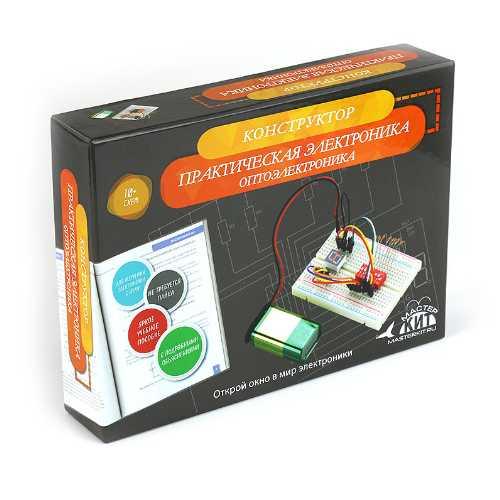 NR08 Конструктор Оптоэлектроника - серия Азбука электронщика