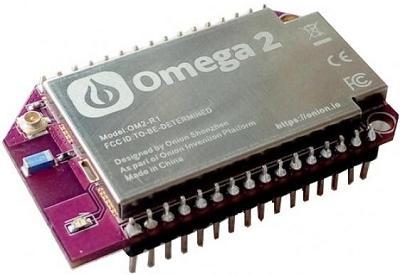Микрокомпьютер Omega 2 Plus (580 МГц, 128 DRAM, 32 FLASH)