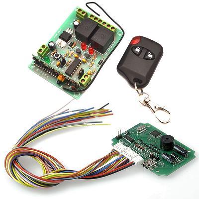 Мультифункциональный модуль управления + беспроводное реле диапазона 433 МГц (до 2 кВт)