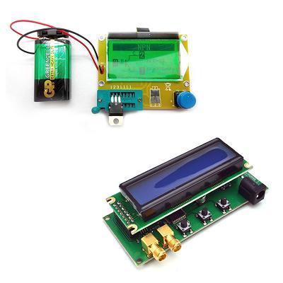 Тестер параметров и исправности электронных компонентов (R-L-C, N-P-M, ESR) + Двухдиапазонный частотомер