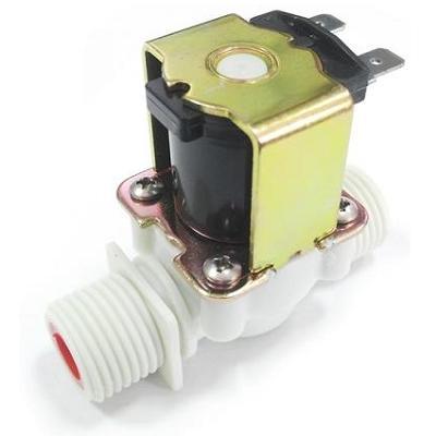 NT8048M AC220V. Электромагнитный водопроводный клапан (пластик, 0,5 дюйма, 50 градусов Цельсия, АС 220 В, нормально закрытый)