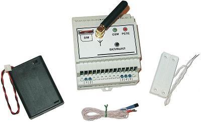 MP0208. GSМ выключатель с контролем температуры