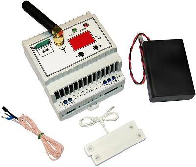 MP0211. GSM термостат с индикатором температуры
