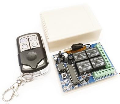 MP323RX4. Универсальный комплект 433 МГц, 4 реле, 10 А, 2200 Вт