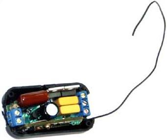 MK344. Регулятор яркости двухканальный плавный 220В/300Вт (433 МГц)