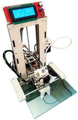 3D START v2.0. Модульный 3D принтер-конструктор 3D MC7 Prime mini M