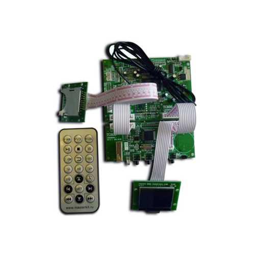 Высококачественный MP3-рекордер темброблок. FM-радио/USB/SD/AUX  KIT MP3606