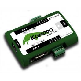 Анализаторы протоколов Komodo CAN Duo Interface
