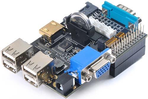 Электронный модуль Модуль расширения X100 для Raspberry Pi