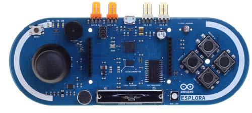 Контроллеры Arduino Esplora