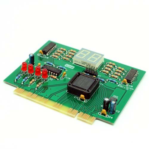 Лаборатория KIT BM9221: BM9221 - Устройство для ремонта и тестирования компьютеров - POST Card PCI