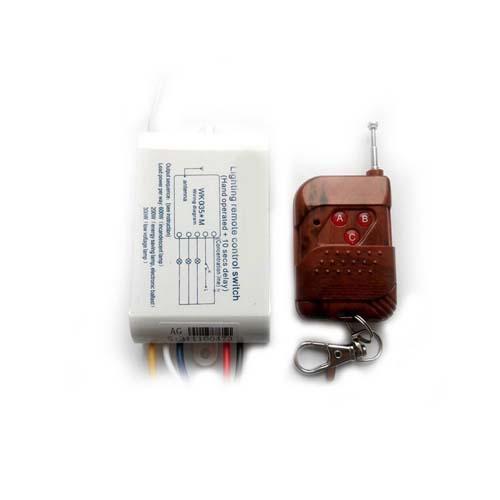Домашняя автоматика: MA0353A - Беспроводной комплект управления освещением диапазона 433 МГц (три канала по 2 кВт)