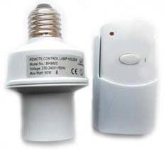 MA9801E27 - Беспроводной комплект управления освещением диапазона 433 МГц (1 патрон 600 Вт)