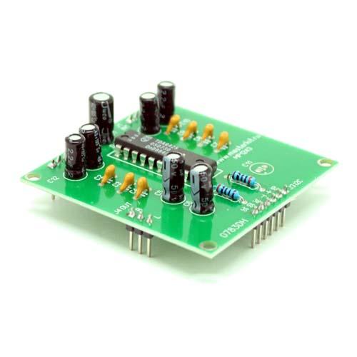 Hi-Fi аудиопроцессор (TDA8425) с управлением по шине i2c MP1243A.