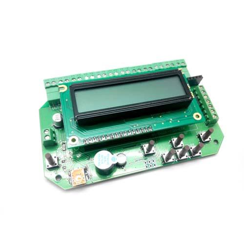 MP8036. 12-ти канальный таймер, термостат, АЦП, часы, v1,95а