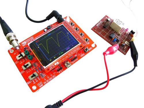 NM8020 - DIY-лаборатория: Компактный цифровой осциллограф