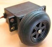Платформы и колёса Continuous rotation servo and wheel