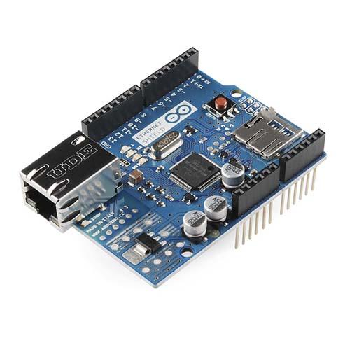Платы расширения Arduino Ethernet Shield