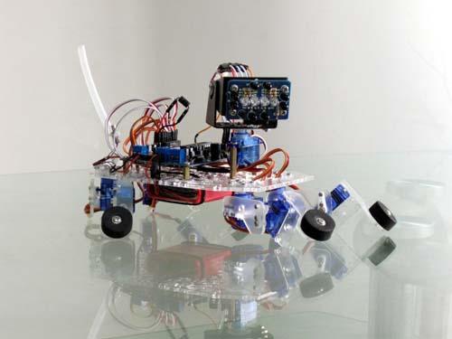 Роботы Playful Puppy robot kit