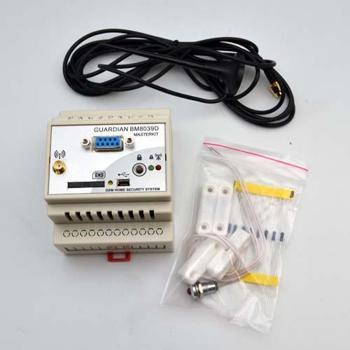 GSM интеллектуальное управляющее охранное устройство на DIN-рейку BM8039D
