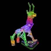 Обучающие наборы и модули KIT FB0027 Светодиодный конструктор Laser Pegs Животные