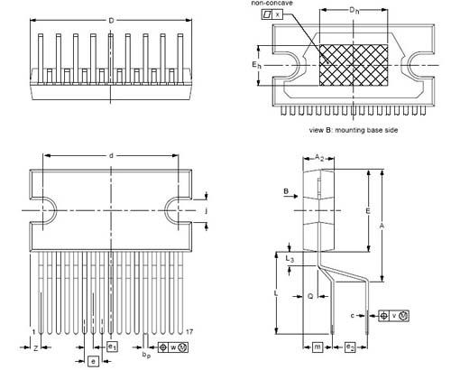 Мультимедиа преобразователь TDA1558Q/N1.112