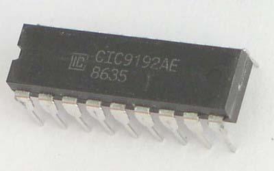 Микроконтроллер широкого назначения PIC16F628-04/P