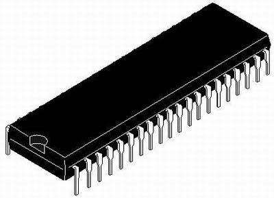 Микроконтроллер широкого назначения PIC16F877-04I/P