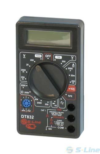 Бытовой мультиметр DT-838