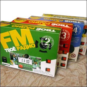 EK-002P - Радиоконструктор - набор Твоё радио №2