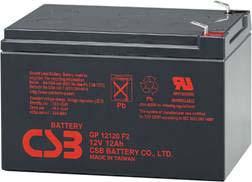 Аккумуляторы свинцовый ACC 12V 12.0Ah GP12120
