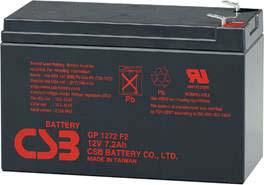 Аккумуляторы свинцовый ACC 12V 7.2Ah GP1272