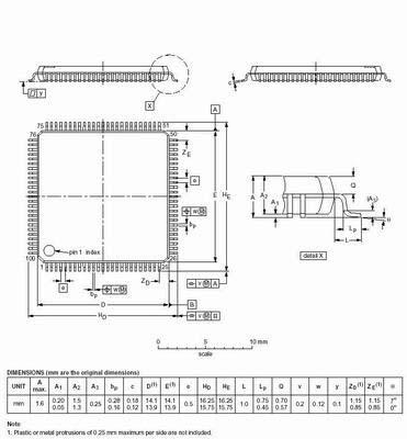 Микроконтроллер широкого назначения MSP430F449IPZ