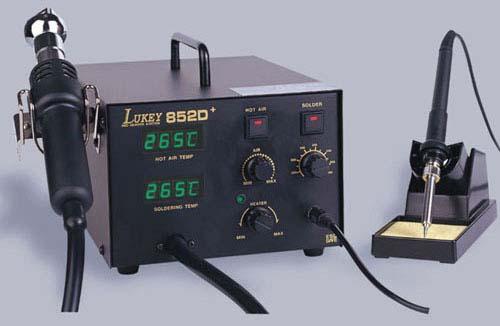 Термовоздушная паяльная станция LUKEY-852D+