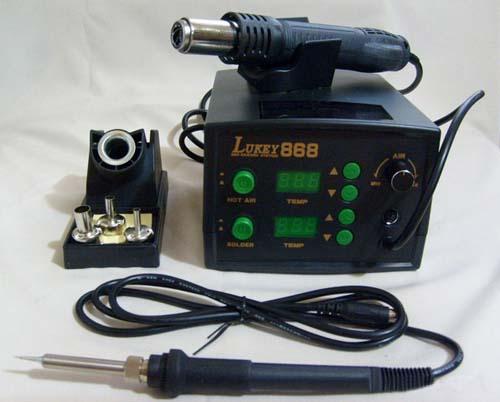 Термовоздушная паяльная станция LUKEY-868