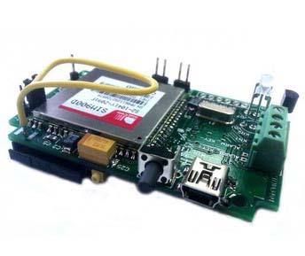 Автономная GSM-SMS сигнализация с функцией контроля и управления температуры.  Модуль MA3401.