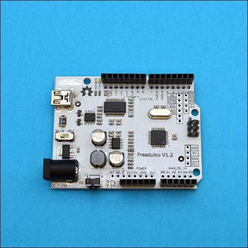MB DUEML - Freaduino Duemilanove, Arduino совместимая плата, 3.3В/5В, ATMEGA328, 16 МГц