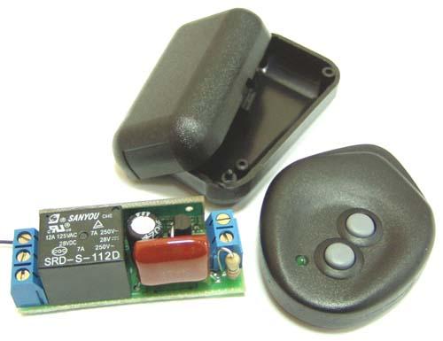 MK331 - Радиоуправляемое реле 433 МГц, 220В/2,5А