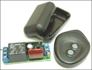 Радиоуправляемое реле MK333 на 433 МГц. Выключатель в кармане