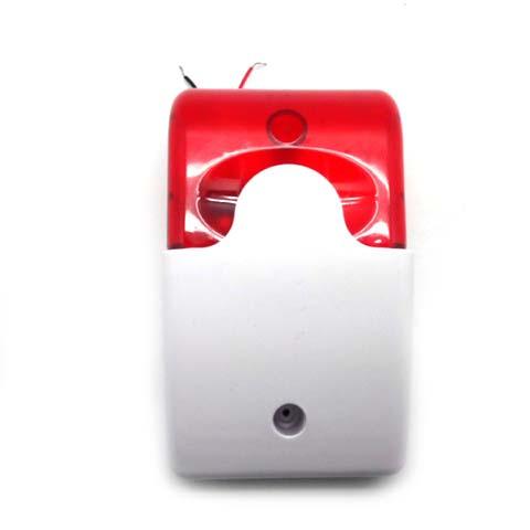 MP003A. Светозвуковая сирена со стробоскопической вспышкой, для систем оповещения и сигнализации
