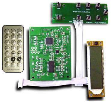Предварительный усилитель-темброблок с сабвуферным каналом KIT MP1235