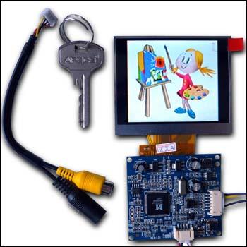 MP29035M - Цветной 3.5' TFT-LCD видеорегистратор разрешением 640 x 480