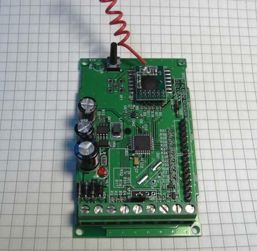 Параллельное дистанционное управление: передатчик 433 МГц, от 1 до 8 каналов.  Радиоконструктор MP3329 SE
