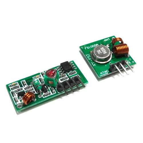 Модуль MP433. Набор беспроводного приёмника и передатчика диапазона 433,92 МГц
