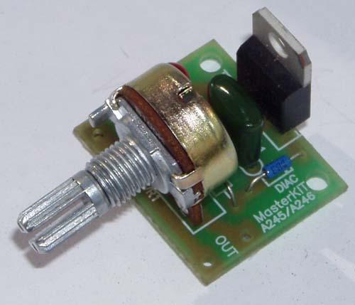 Радиоконструктор NF246. Регулятор мощности AC 220 В ; 1000 Вт