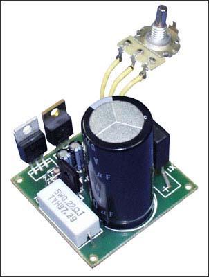 NK037 - Регулируемый стабилизатор напряжения 1,2…30 В/ 4 А. Набор для самостоятельной сборки