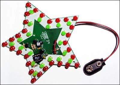 Новогодняя звёздочка NM5050