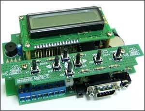 4-х канальный микропроцессорный таймер, термостат, часы (набор для пайки) NM8036
