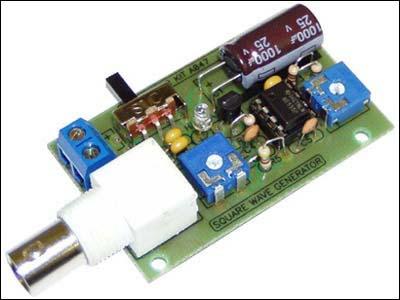 Генератор прямоугольных импульсов 250 Гц...16 кГц. Набор NS047