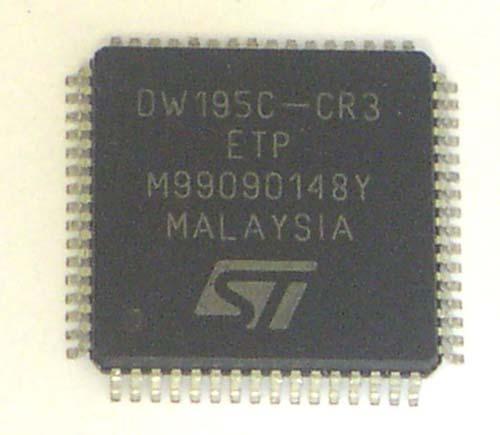Мультимедиа преобразователь LC75821E SMD